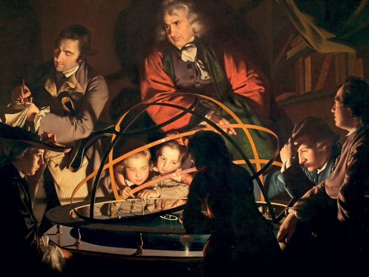The Orrery, Joseph Wright of Derby, 1766.