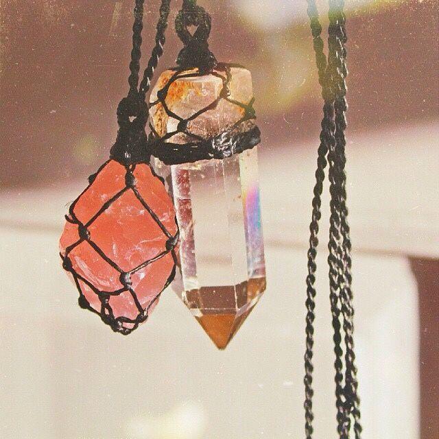 wrapped stones