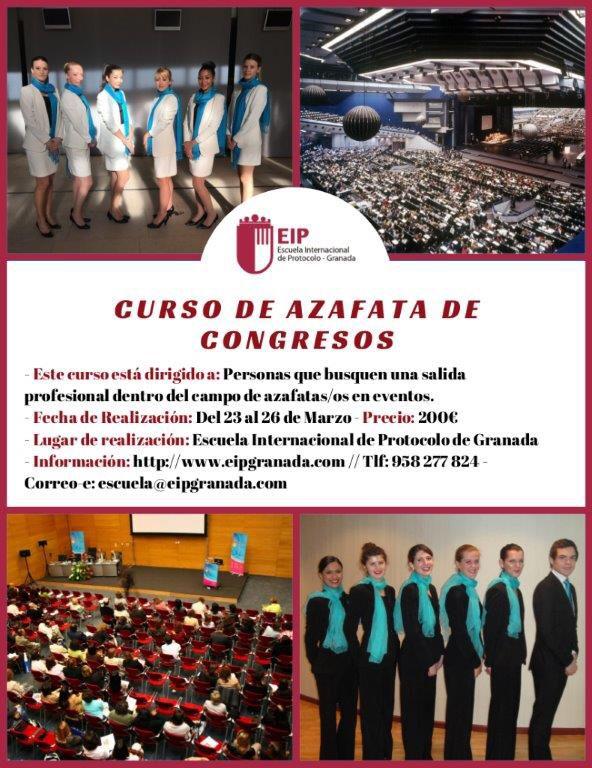Curso de #azafata de #congresos con @raquelnofuentes