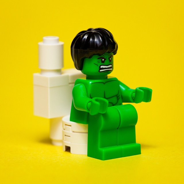 26/52: Diarrhea make Hulk ANGRY!!! by pong0814, via Flickr - OH GOD DOES THIS MAKE ME LAUGH. IT'S NOT EVEN ALL THAT FUNNY.