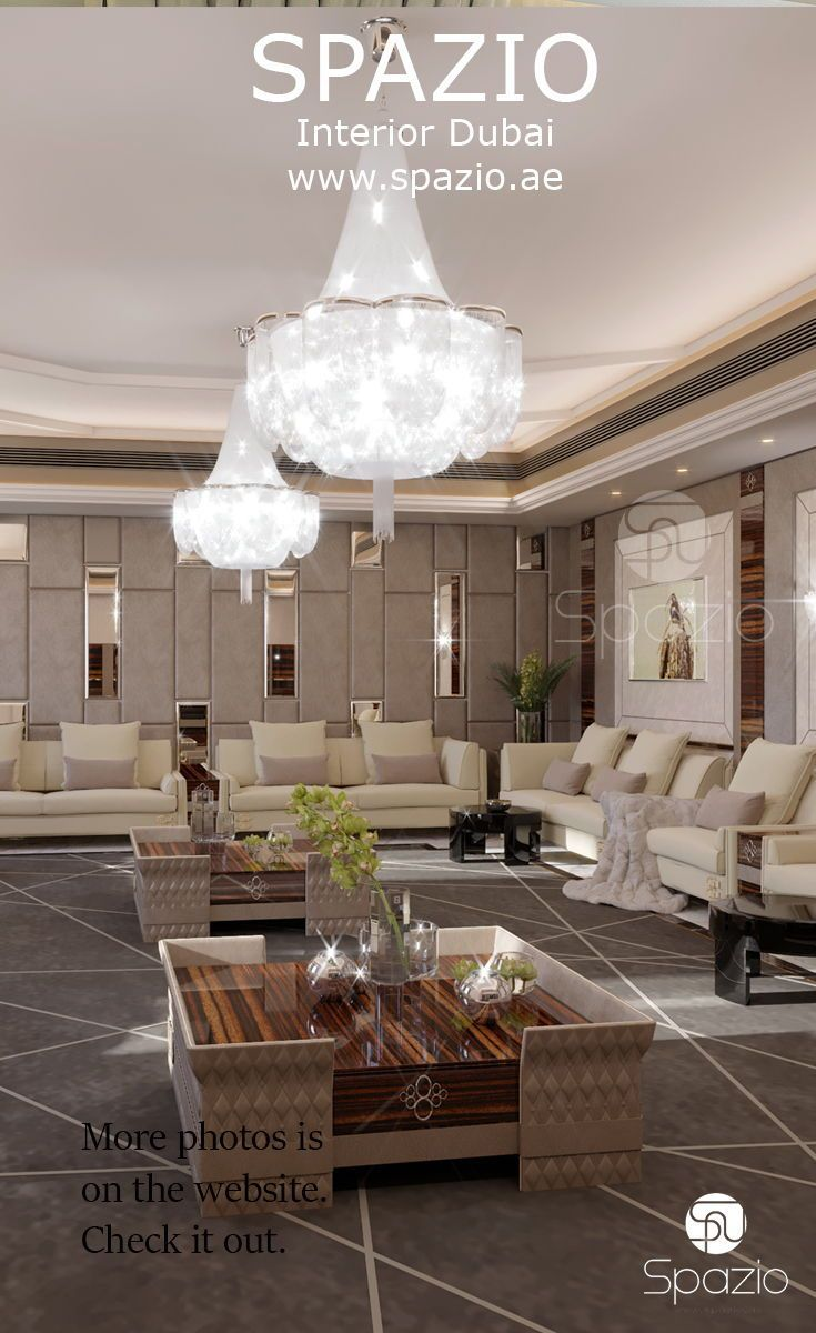 Luxury design from seating room | Interior decorating ideas in 2019 ...