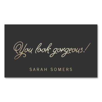126 best business cards stylists images on pinterest beauty makeup and hair stylist gold script beauty business card colourmoves