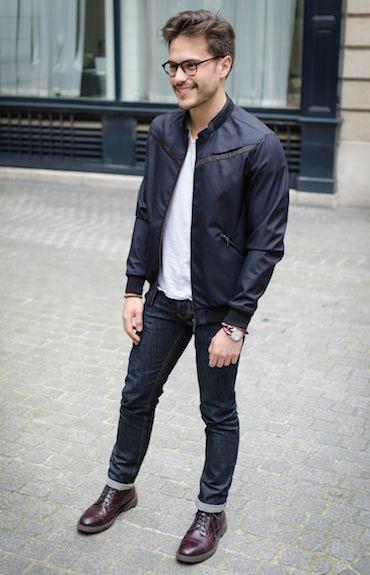 Jean noir homme bonnegueule