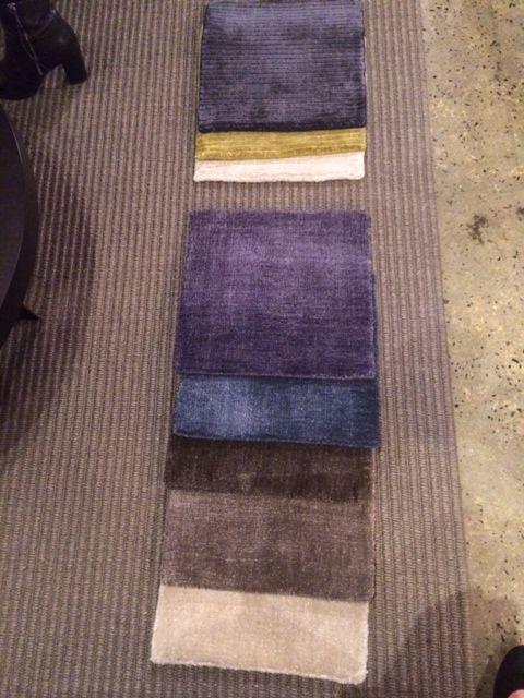 New custom rug selection