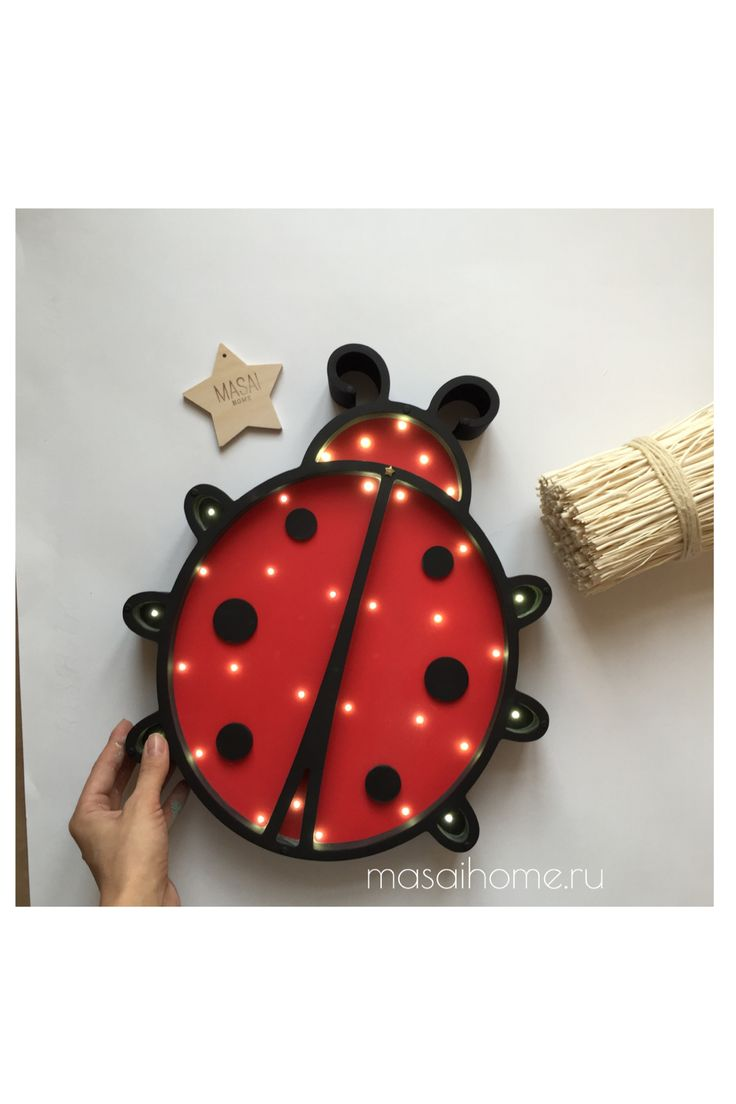 #nightlight #ladybug  #freedom #lamp #surf #babyshower #babyroom #woodnightlight #forkids #forbaby #sweetdreams #gift #decor #decorforkids #ночник #лампа #ночниквдетскую #божьякоровка  #giftforbaby #kidroom #interior #room Wooden nightlight handmade. Original lamp powered by 3 AA batteries. Battery lasts for 1.5 months in the mode of 4-5 hours per day. Battery can easily be replaced. The switch off/on - touch light system by MASAIHOME. Brightness adjustment.