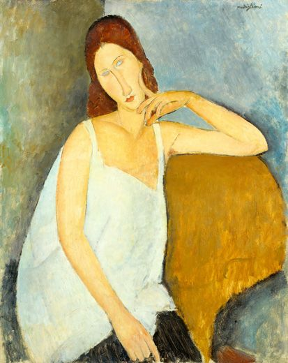 Modigliani: Art Modigliani, Art Amadeo Modigliani, Art Amedeo Modigliani, Artist Amedeomodigliani, Canvas, Painting, Oil