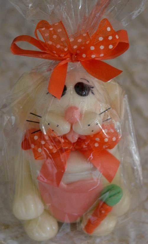 Empaques para dulces y recordatorios coneja