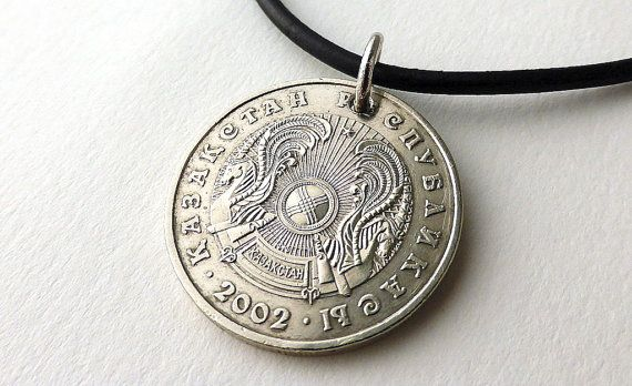 Hey, I found this really awesome Etsy listing at https://www.etsy.com/listing/258424297/coin-necklace-kazakhstan-mens-necklace