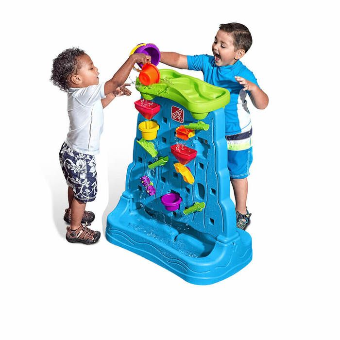 Step 2 Waterfall Discovery Wall.  Available at Kids Mega Mart Online Shop Australia