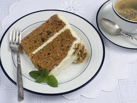 Silver Palate Carrot Cake Less Sugar