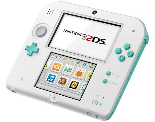 Nintendo 2DS Gets Sea Green Color
