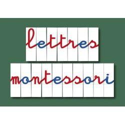 Vente de matériel Lettres mobiles pour Montessori : jeu de 270 lettres imprimées