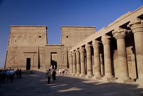 Templo de Philae  Egipto  Precioso y bien conservado