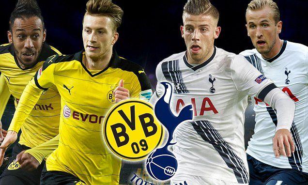 newgersy.com Borussia Dortmund vs Tottenham: Champions League prediction, team news, line-ups, start time, live, TV