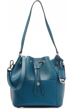 Damestassen - Michael Kors Greenwich Medium Leather Bucket Bag