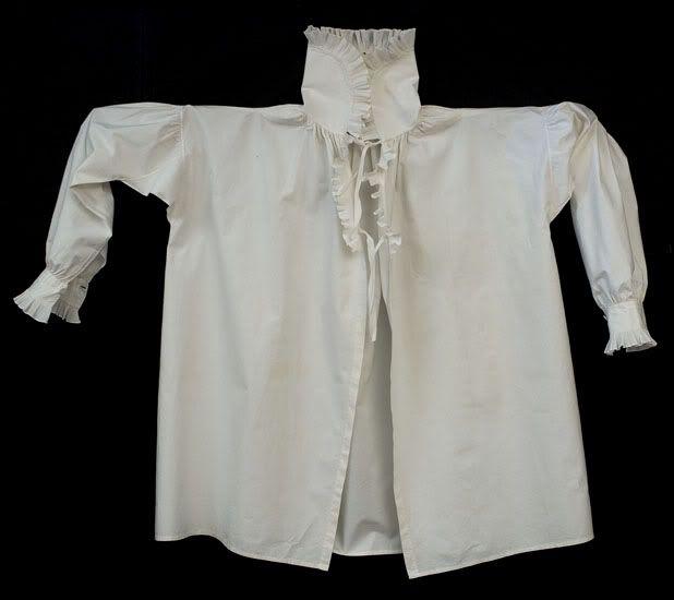 1800 - camicia borghese da uomo.