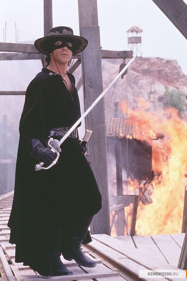 Antonio Banderas in ''The Mask of Zorro''  1998