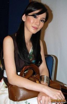 Jill Gladys, Asian actress.