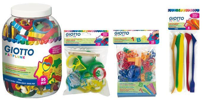 Acessórios para plasticina Giotto Patplume