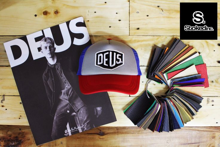 Deus Trucker cap Available on selected @stokedinc stores!