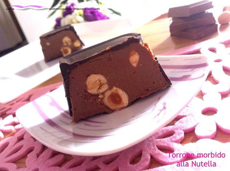Torrone morbido alla Nutella  http://blog.giallozafferano.it/weddingplanneraifornelli/torrone-morbido-alla-nutella-con-e-senza-bimby/