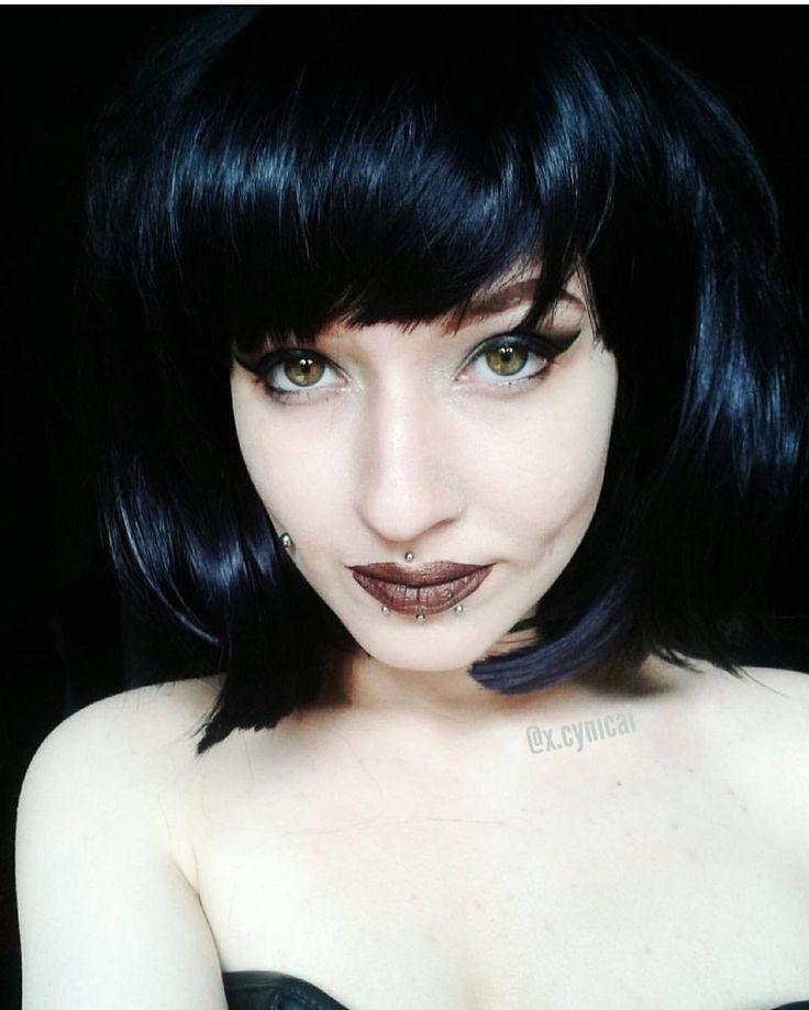 @x.cynical Looks gorgeous in Lush style: Betty  . . #lushwigsbetty #lushwigs #wig #lushhair #bobwig #blackbob #cutehair  Lushwigs.com (link in bio)