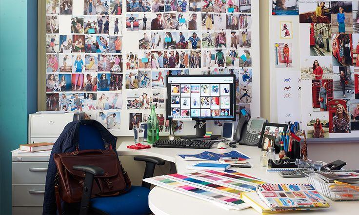 My creative space: Johnnie Boden