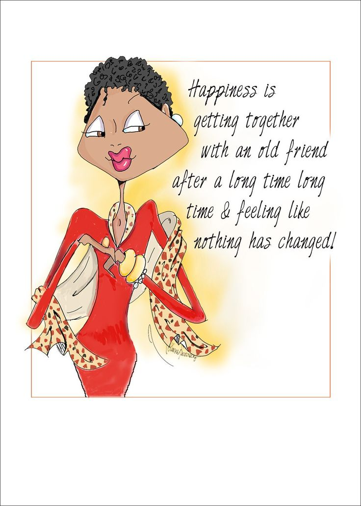 African American Birthday Card, African American Woman -8356
