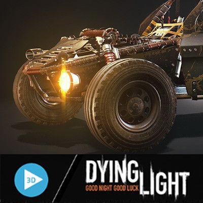 Dying Light: The Following Buggy, Karol Miklas on ArtStation at https://www.artstation.com/artwork/RzaJe