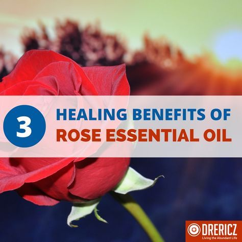 More than just a pretty smell, rose essential oil holds some unbelievable health benefits!