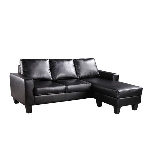 Hathaway sofa studios convertible and sofas for Boca chaise pillow