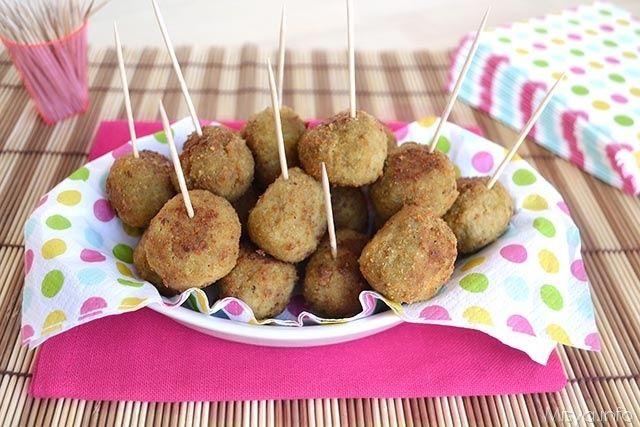 Polpette di carne e olive