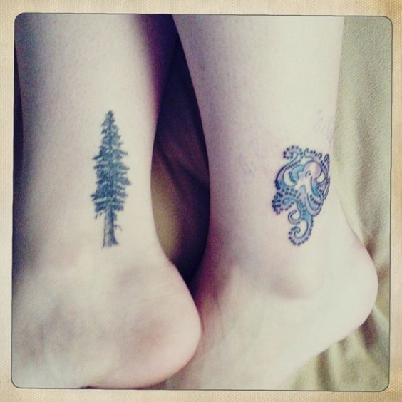 Gallery For > Sequoia Tree Wrist Tattoo