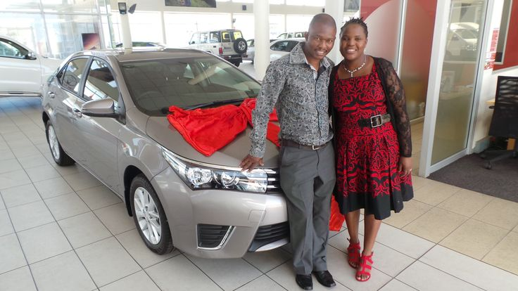 Customers taking delivery of their new #Toyota #Corolla