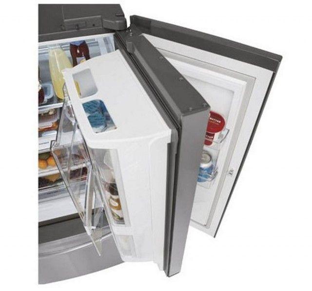 lg storage compartment in the door