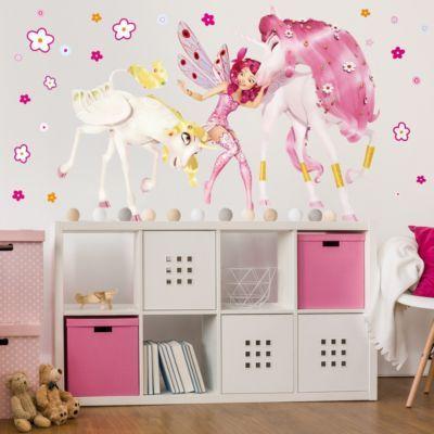 Vintage Wandtattoo Kinderzimmer Mia and Me Mia Onchao und Lyria x Jetzt bestellen unter
