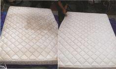 Esta es la forma más eficaz de limpiar su colchón de manchas y olores desagradables! | Mi Mundo Verde