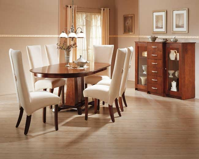 More than 400 chair styles, more than 80 table sizes, more than 140 different finishes and colours and more than 190 fabrics and leathers - Bermex delivers quality in a wonderful combination of Canadian solid pine and birch