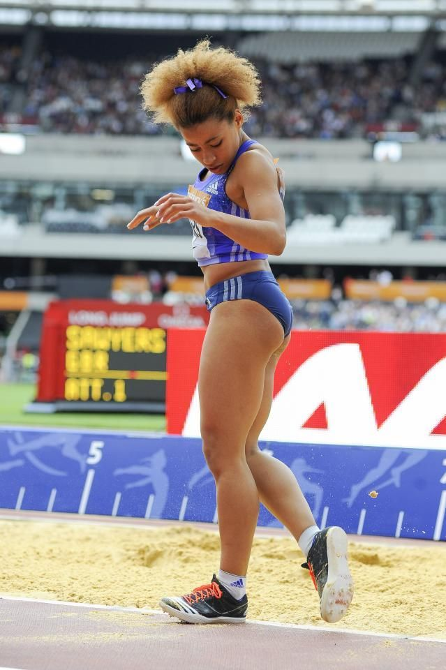 Jazmin Sawyers - Athletics. Long Jump.