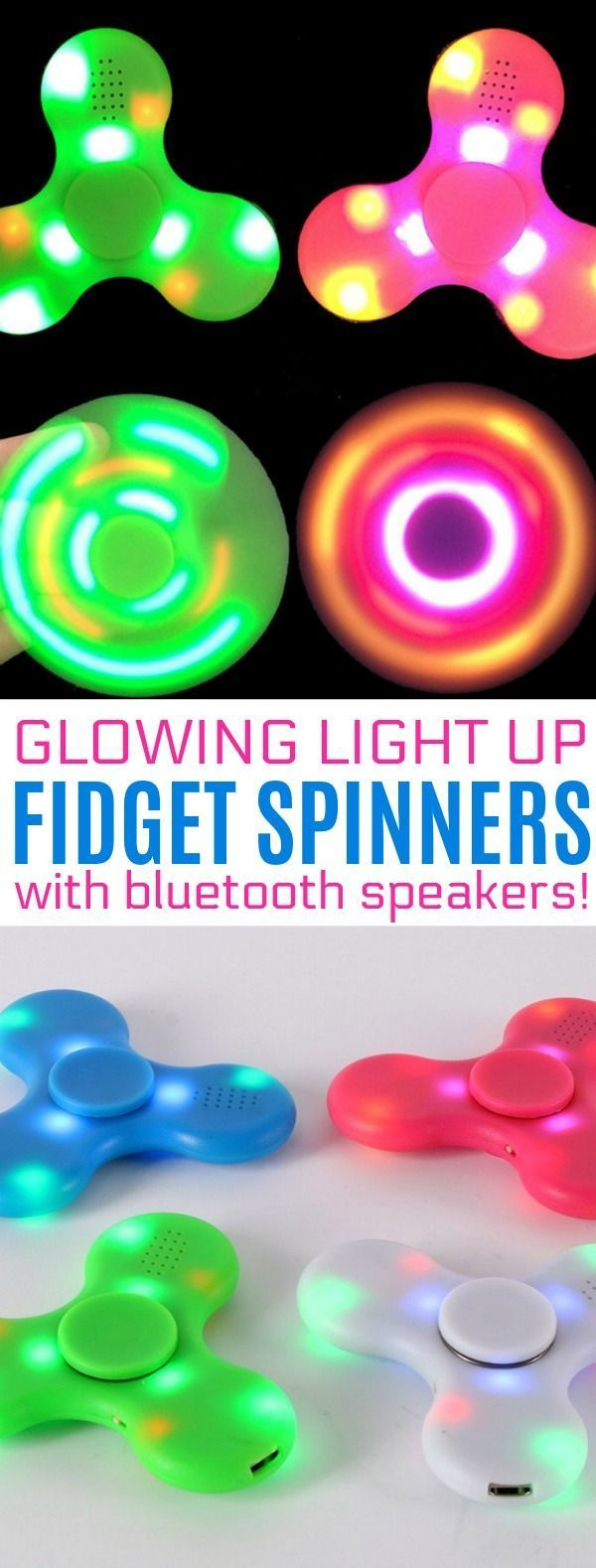20 Best Premium Spinners Images On Pinterest Cubes Hand Spinner Fidget Mainan Full Gold 9 Gears A Light Up With Speakers My Kids Would Die To Have These