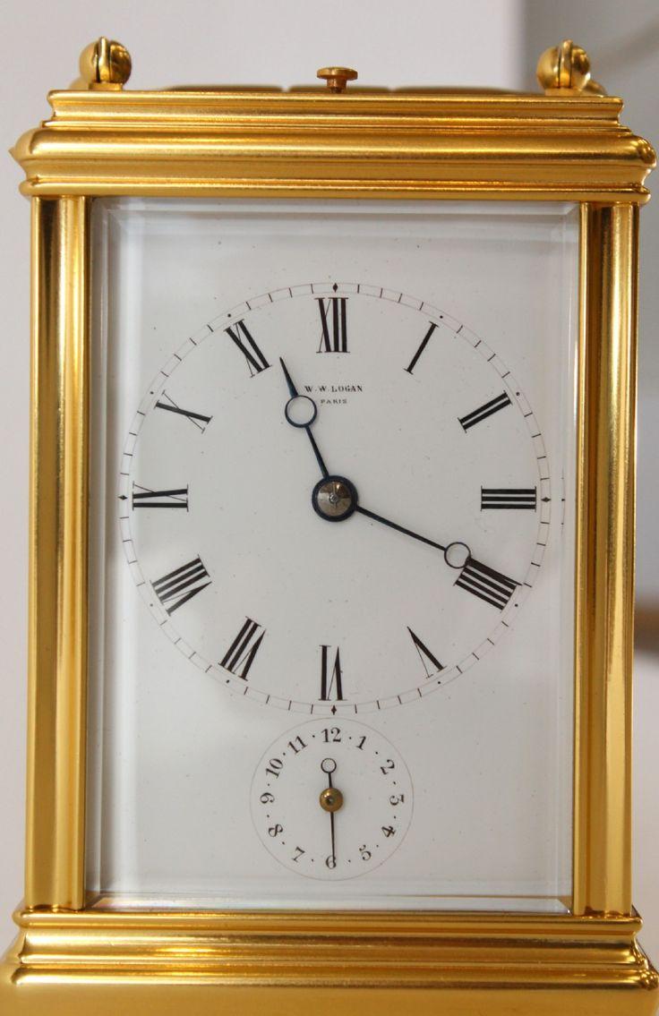 Drocourt Strike Repeat Carriage Clock | 512319 | Sellingantiques.co.uk