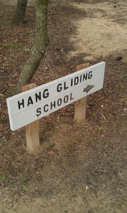First hang gliding lessons
