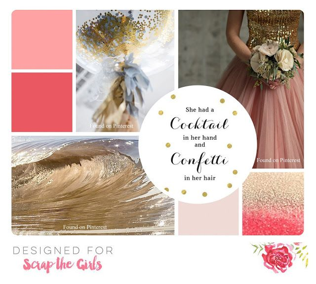 Scrap The Girls Moodboard December 2016