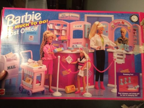 Barbie So Much to do Post Office Mattel 1994 Furniture Accessories | eBay
