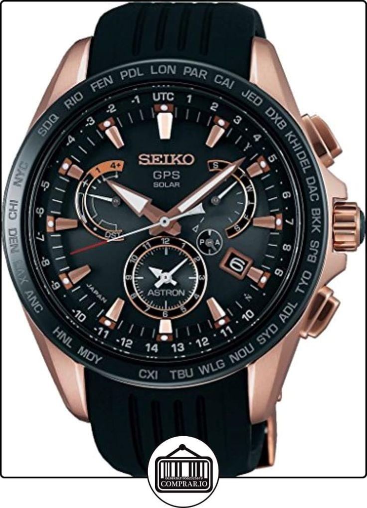Seiko Astron SSE055J1 Reloj elegante para hombres Recepción de GPS para hora & huso horario  ✿ Relojes para hombre - (Lujo) ✿
