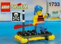 LEGO Instructions 1733 Renegades Raft