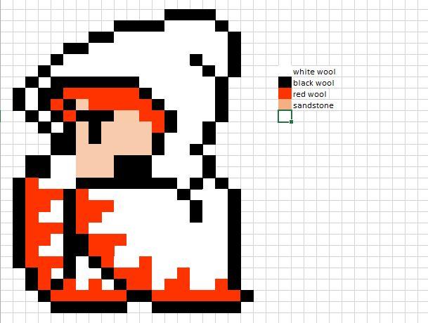 final fantasy 1 pixel art