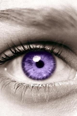 Love my purple contacts!
