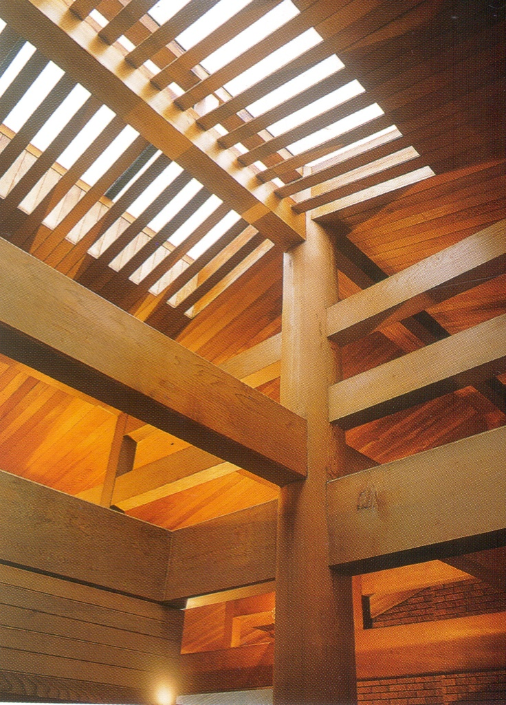 Japanese timber joinery.  A visual balance between the maker and nature.