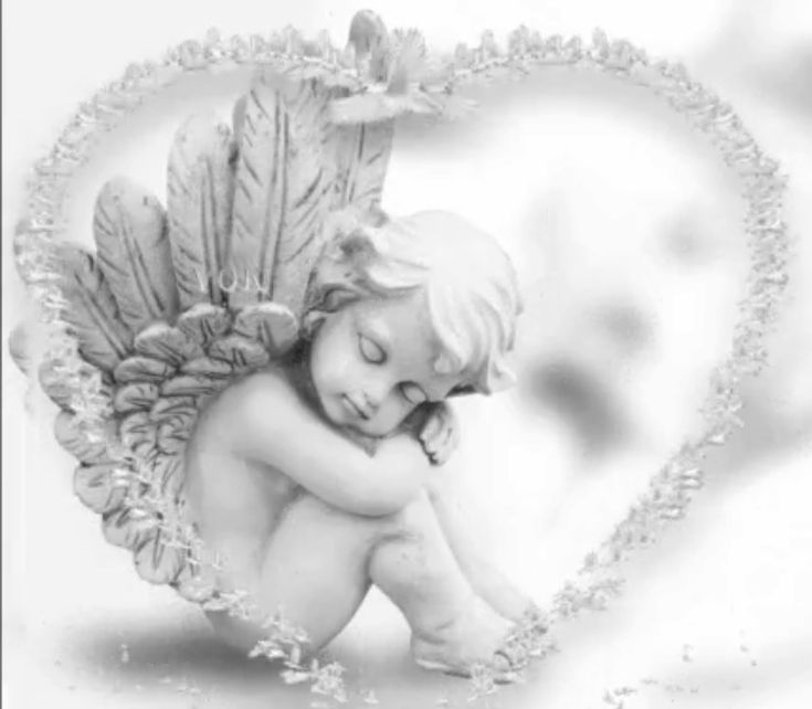 картинка с ангелом береги себя персы